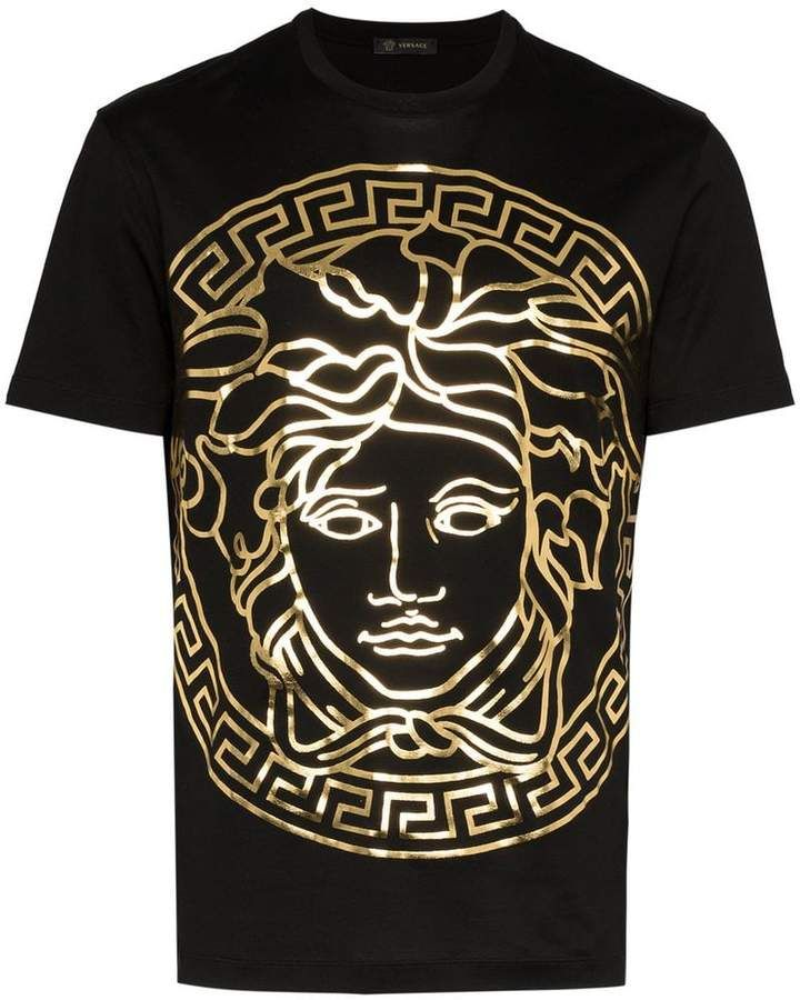 medusa print t shirt