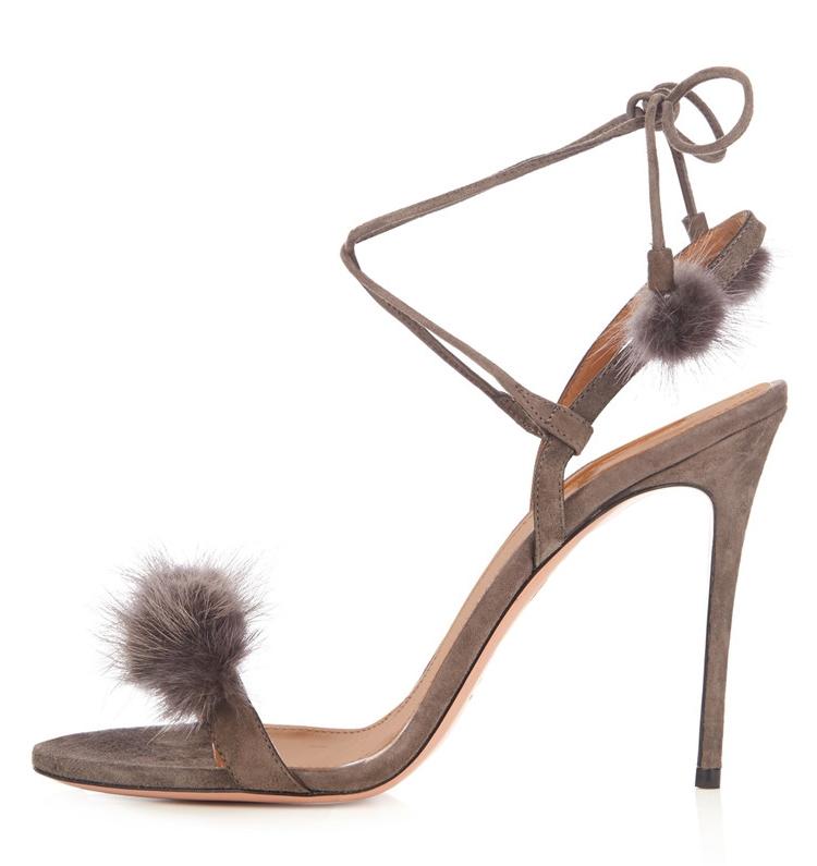 53.89$  Watch now - http://aliwgk.worldwells.pw/go.php?t=32786182886 - New Stylish 2017 Women Sandals Popular Open Toe Thin Heels Sandals Popular Black Grey Wine Red Shoes Woman Plus Size 4-10.5 53.89$