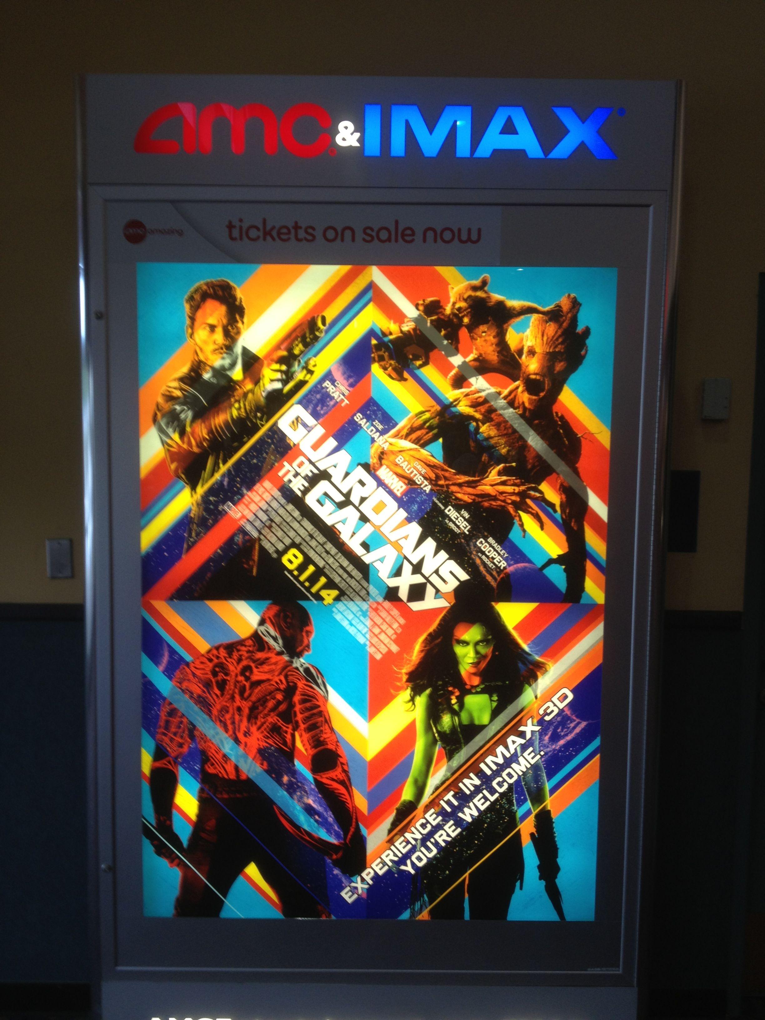 Gotg Imax Poster Imax Pinball Machine Pinball