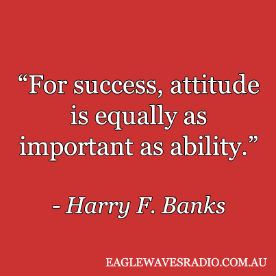 Harry F Banks business quote