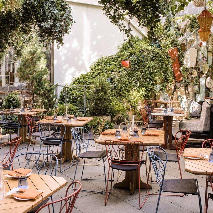 7 Nyc Brunch Spots To Dine Alfresco Restaurants Outdoor Seating