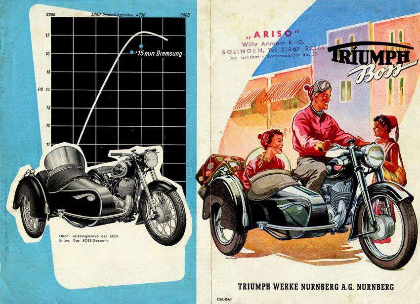 Triumph Boss Sidecar Motorcycle Sidecar Triumph