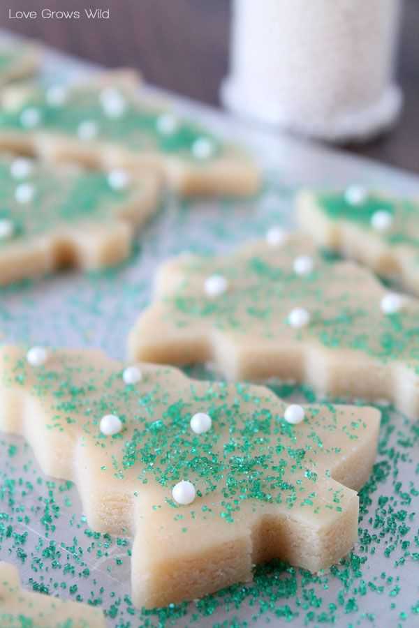 perfect sugar cookie cut outs recipe holiday cookie christmas cut out cookies - Best Christmas Sugar Cookie Recipe