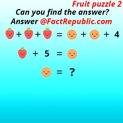 Interesting Puzzles | Facts, Brain teasers, Puzzle
