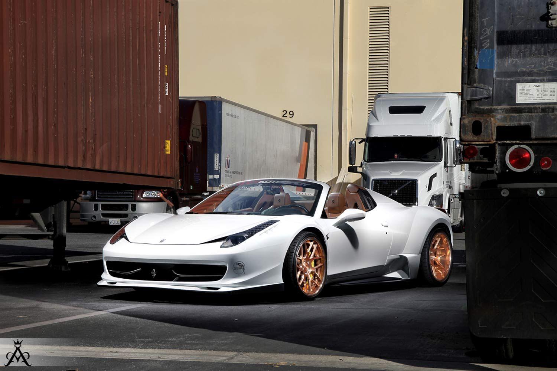 ferrari 458 spider wide body fitted with aristo sport 14jpg 15001000 pixels - Wheelsandmore Ferrari 458 Italia