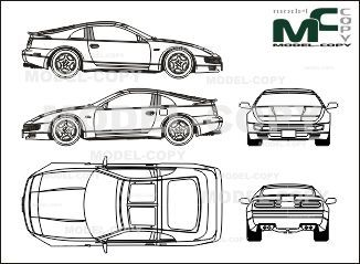 Nissan 300zx blueprints ai cdr cdw dwg dxf eps gif jpg nissan 300zx blueprints ai cdr cdw dwg dxf eps malvernweather Images