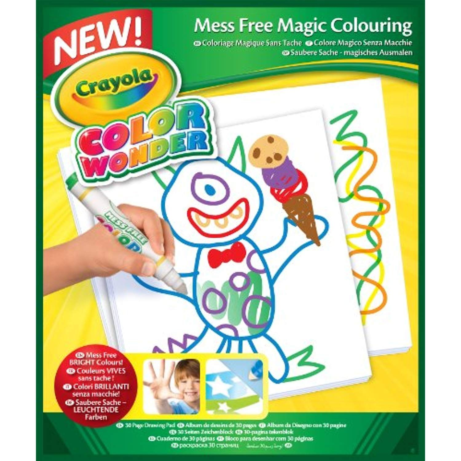 Crayola Giant Coloring Pages Baby Shark Concept