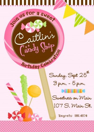 Lollipop candy land themed personalized birthday invitation file diy lollipop candy land themed personalized birthday invitation file diy filmwisefo