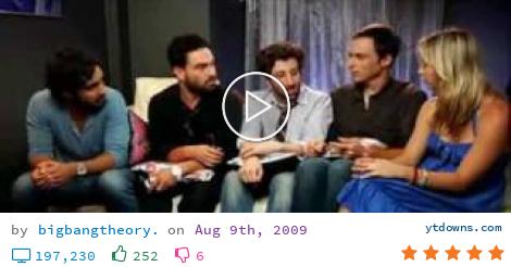 Download Bigbangtheory com videos mp3 - download Bigbangtheory com videos mp4 720p - youtube to...