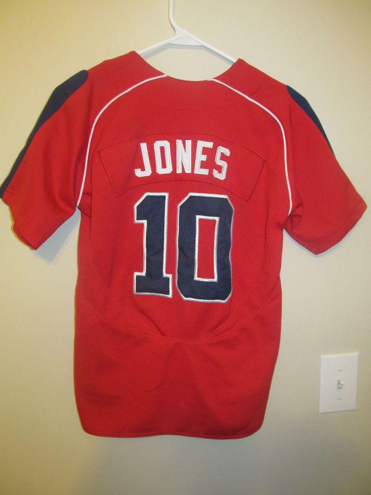 988e6abc Chipper Jones - Atlanta Braves jersey - Nike youth Medium #Nike # AtlantaBraves