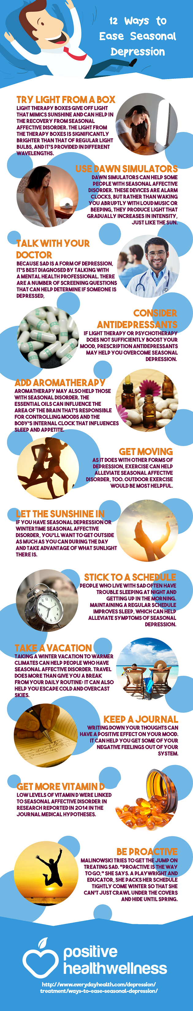 12 Ways to Ease Seasonal Depression