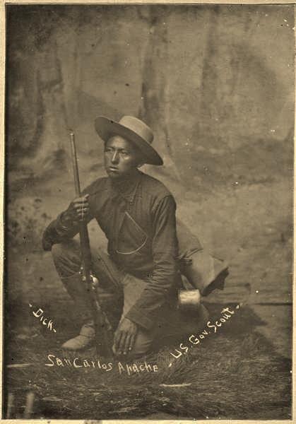 Dick, San Carlos Apache Scout, Arizona........ Cheyenne Kane