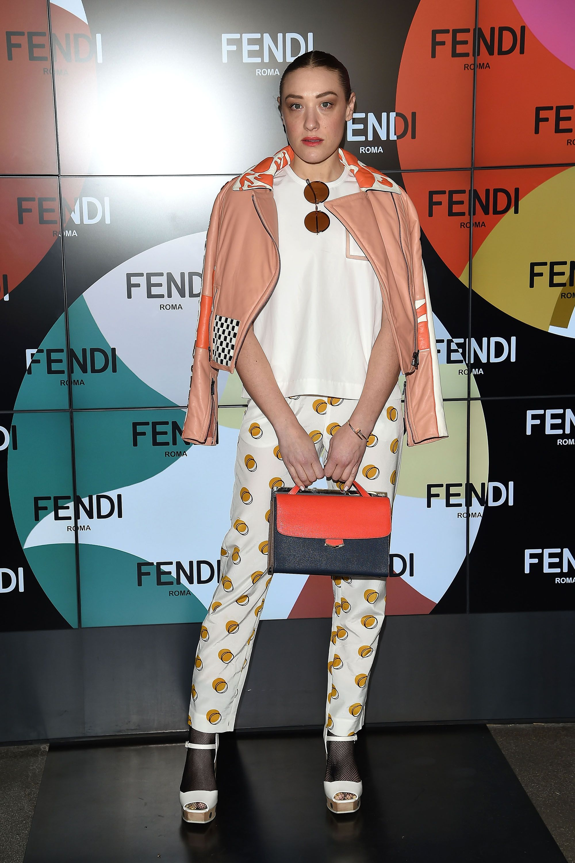 Mia Moretti in Fendi #FrontRowEdition