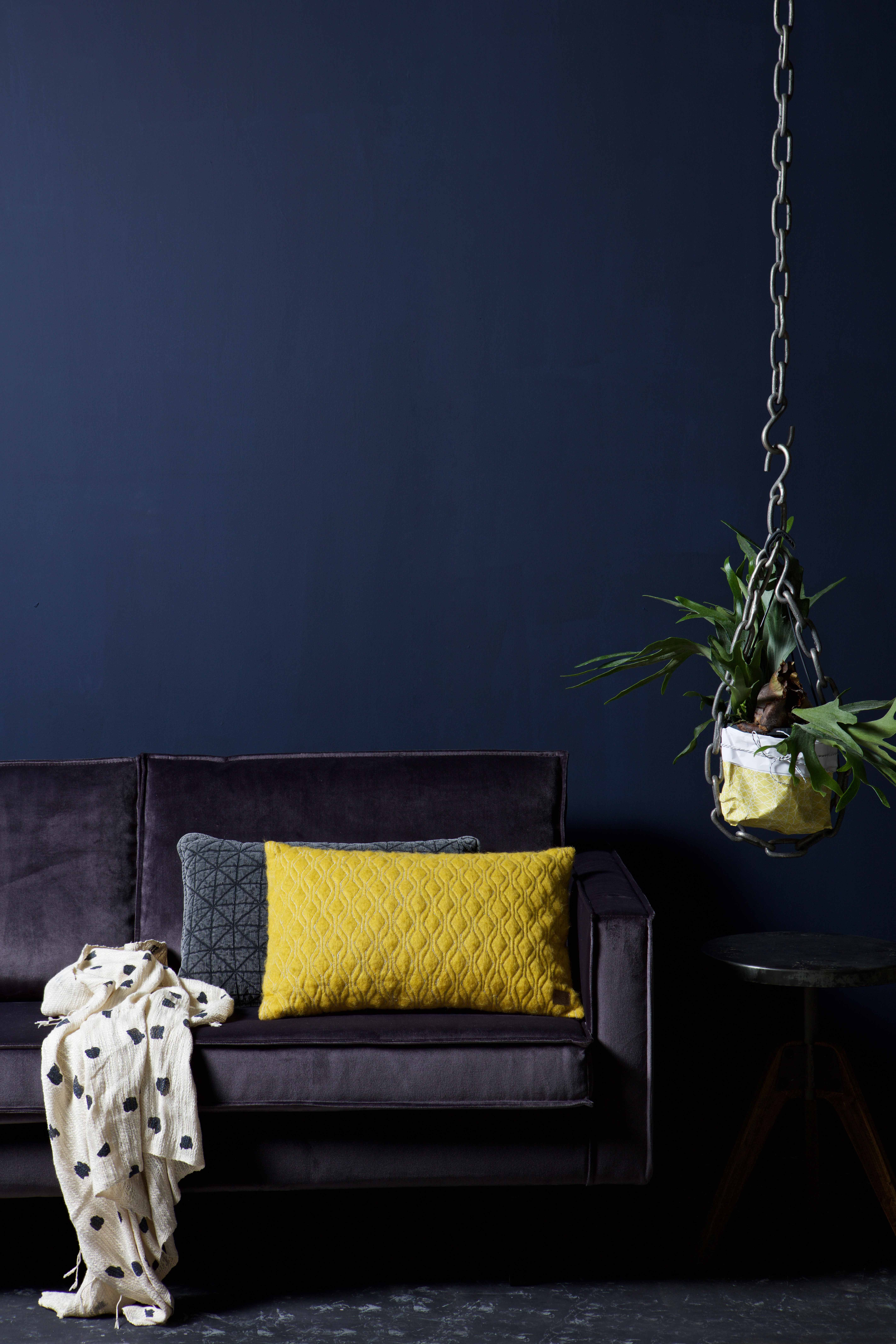 The Rodeo Velvet sofa in the colour Grey by BePureHome #bepurehome ...