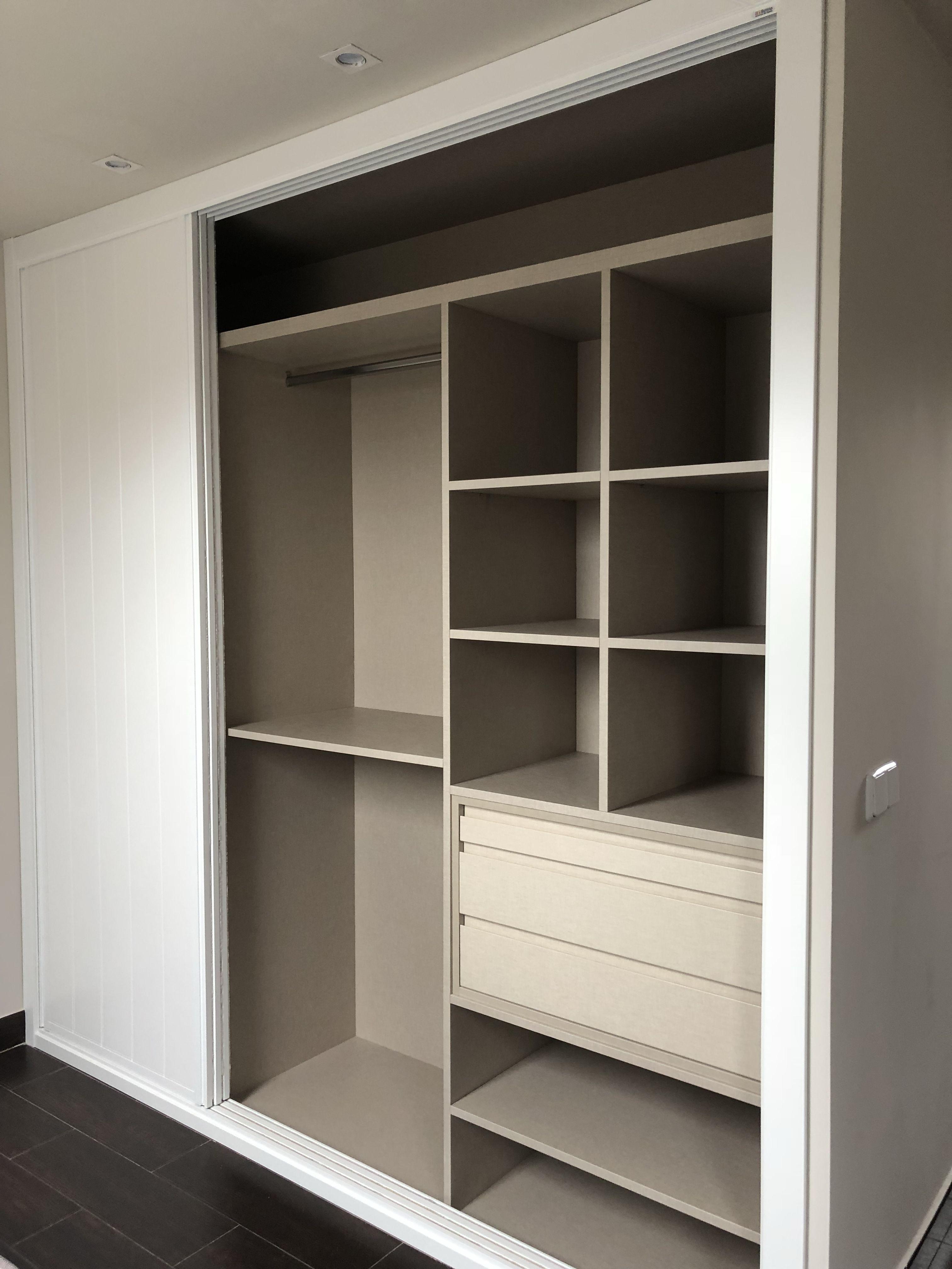 Puertas de interior en madrid armarios empotrados pinterest - Ideas de armarios empotrados ...