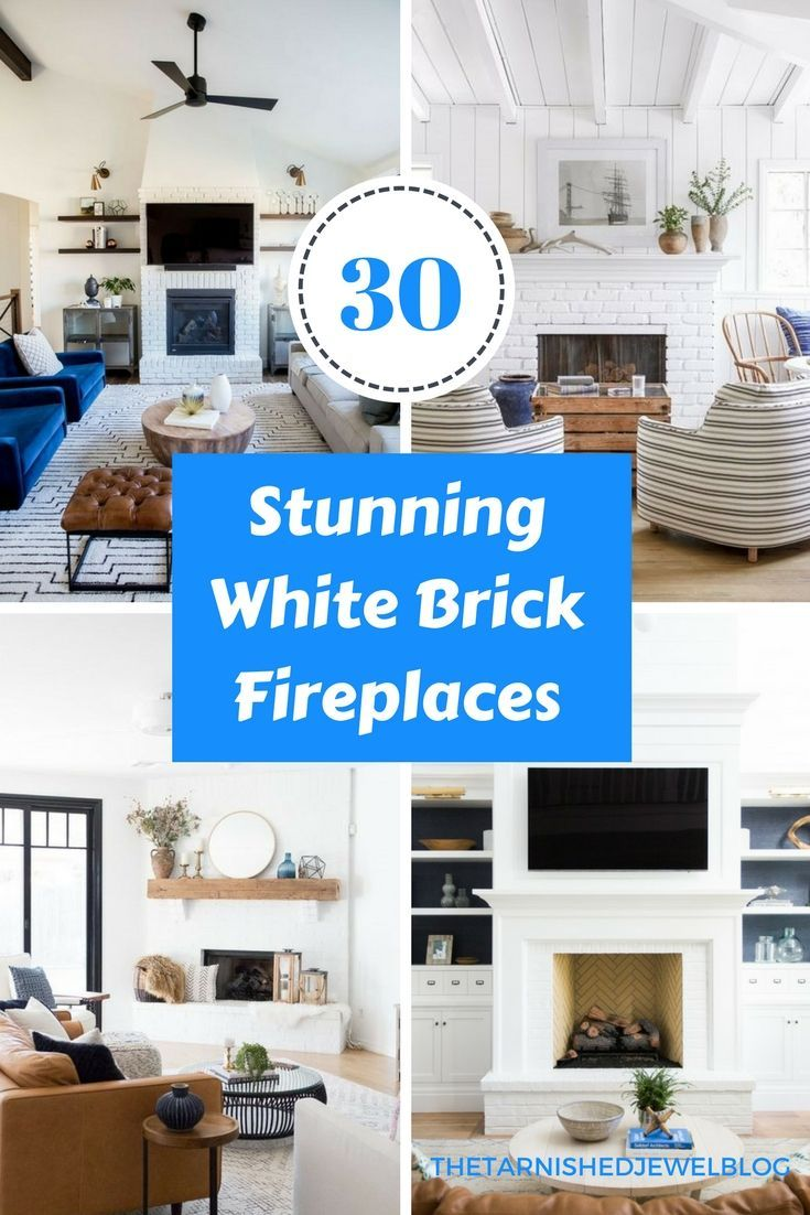 stunning white brick fireplace ideas to try coastal style love