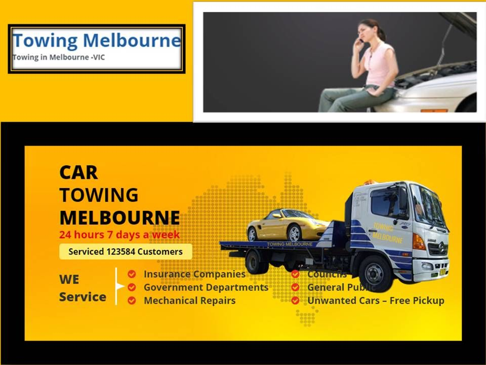 Towing Melbourne is a reliable towing service provider offering best ...