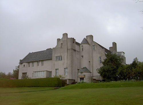 Charles Rennie Mackintosh. Hill House 1902. Helensburgh, Scotland