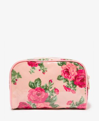 Patent Rose Makeup Case | FOREVER21 - 1035302502