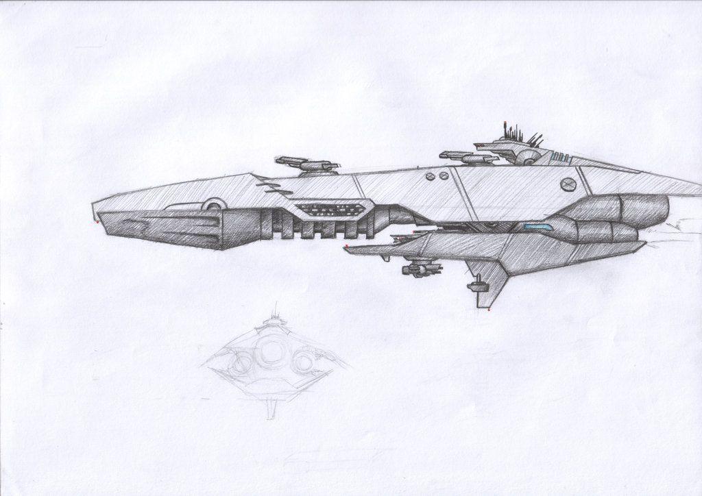 рисунки кораблей будущего в картинках цветов декора