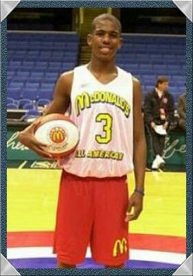 c65e03dbb39e Chris Paul as a McDonalds All-American high school player ...