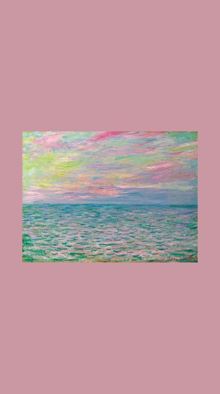 Claude Monet. Wallpaper. (With images) | Aesthetic pastel ...
