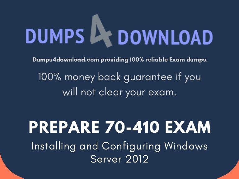 70 410 Dumps Httpsdumps4download70 410 Dumpsml The