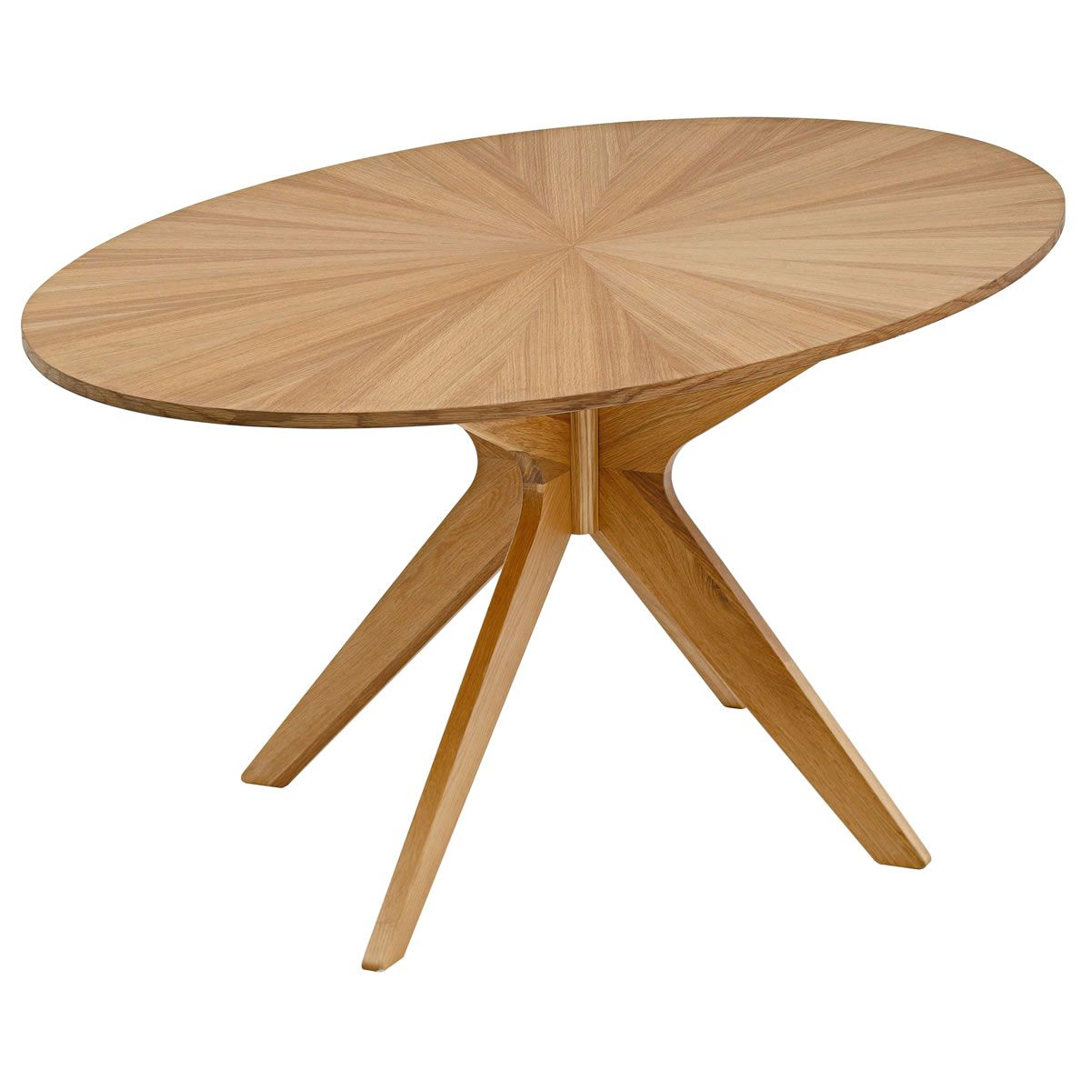 Double crank oval dining table at high fashion home industrial chic -  Omni Oval Dining Table From Domayne
