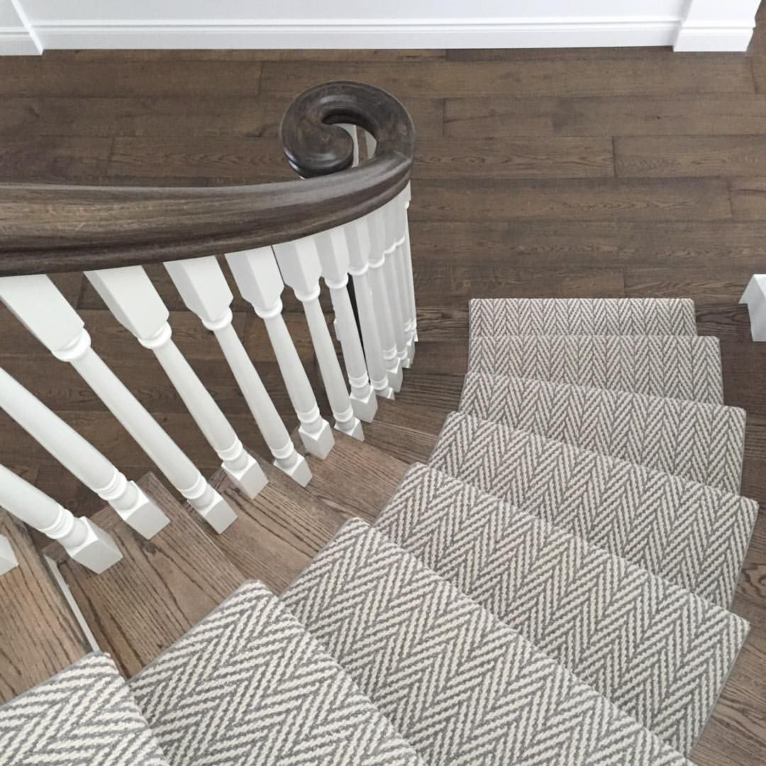 Pamela Sellner Sellnerdesign On Instagram Up Bright And Early On Saturday Morning Toddlerlife Curve Stair Runner Carpet Carpet Stairs Carpet Staircase