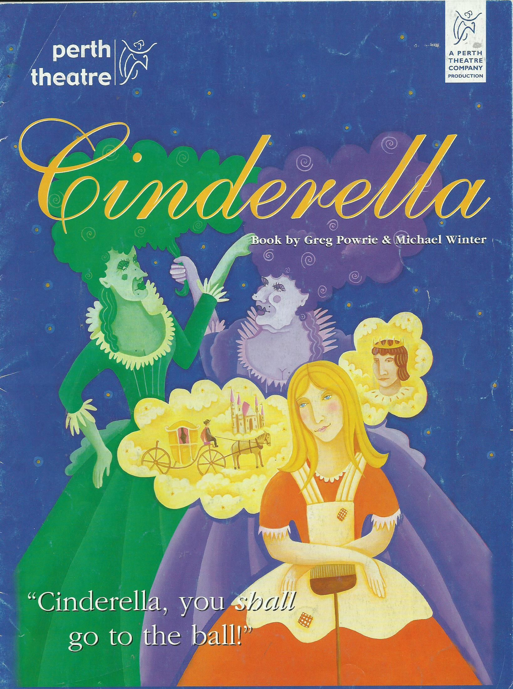 Posters Perth Poster Of Cinderella In Perth Theatre S Pantomime Friday 7th