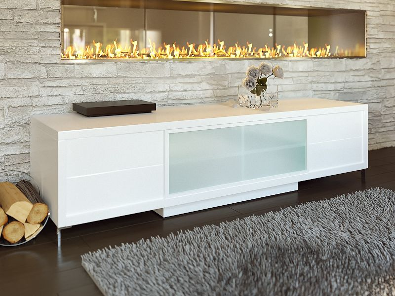 Best Epopee Tv Stand By Modani Furniture Contemporary Tv 400 x 300
