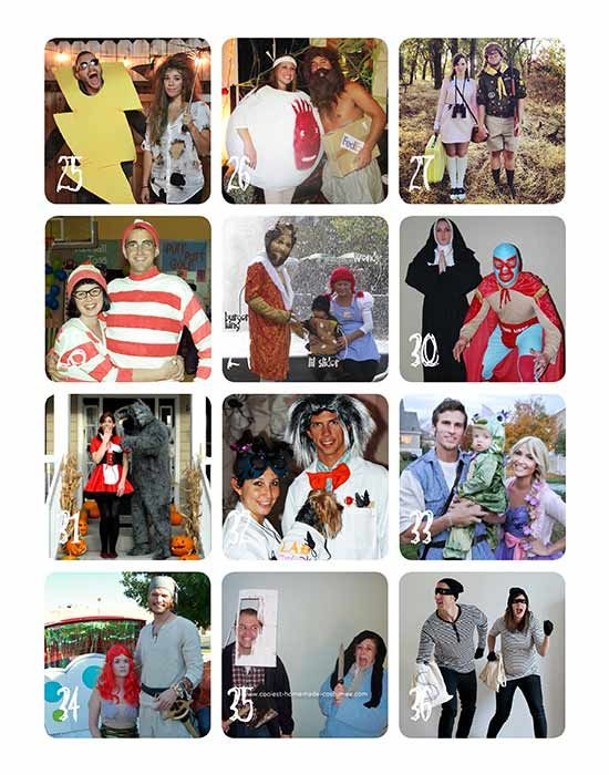 Creative Couples Costumes Round-Up Costumes, Halloween costumes - creative halloween costumes ideas