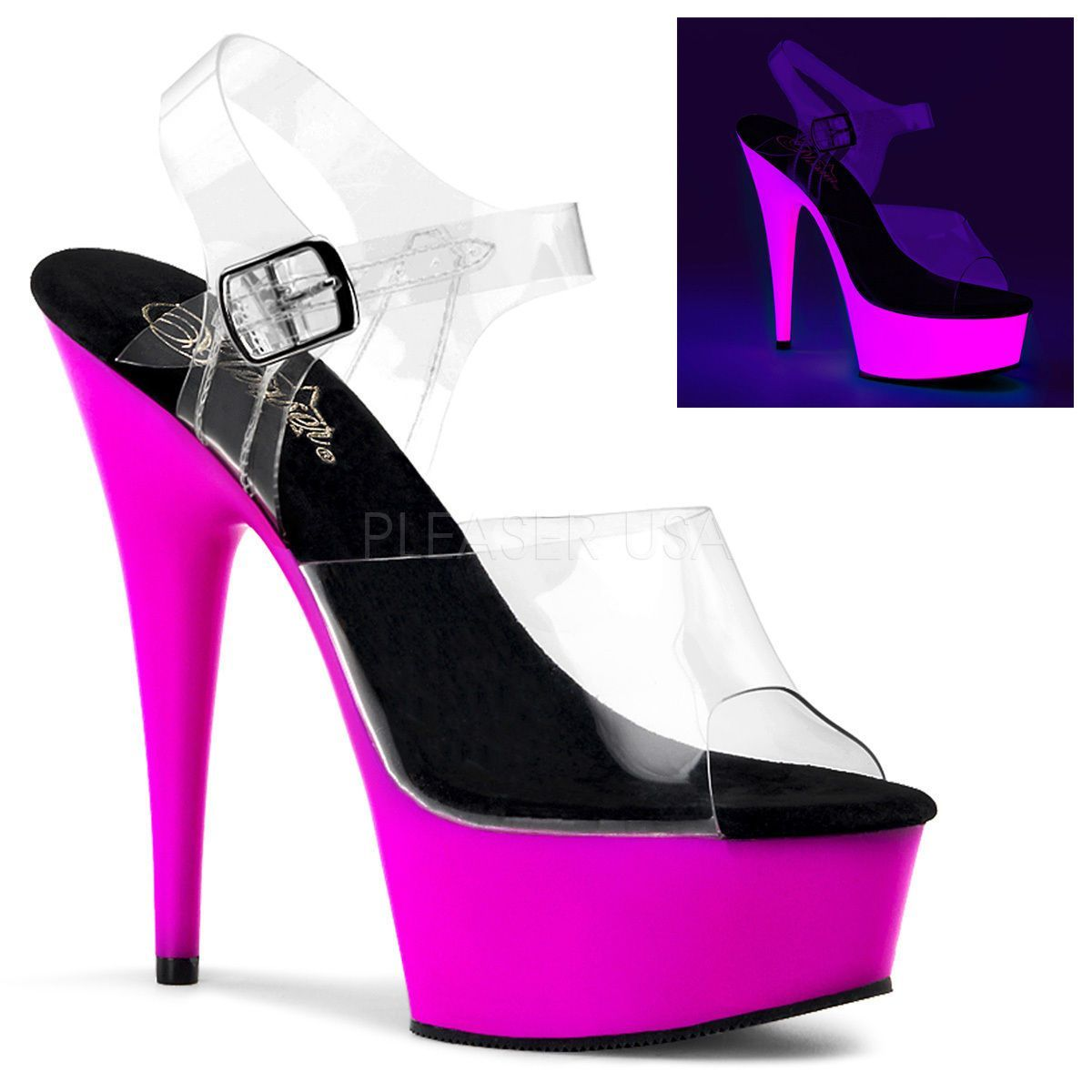 Shoes Purple stripper
