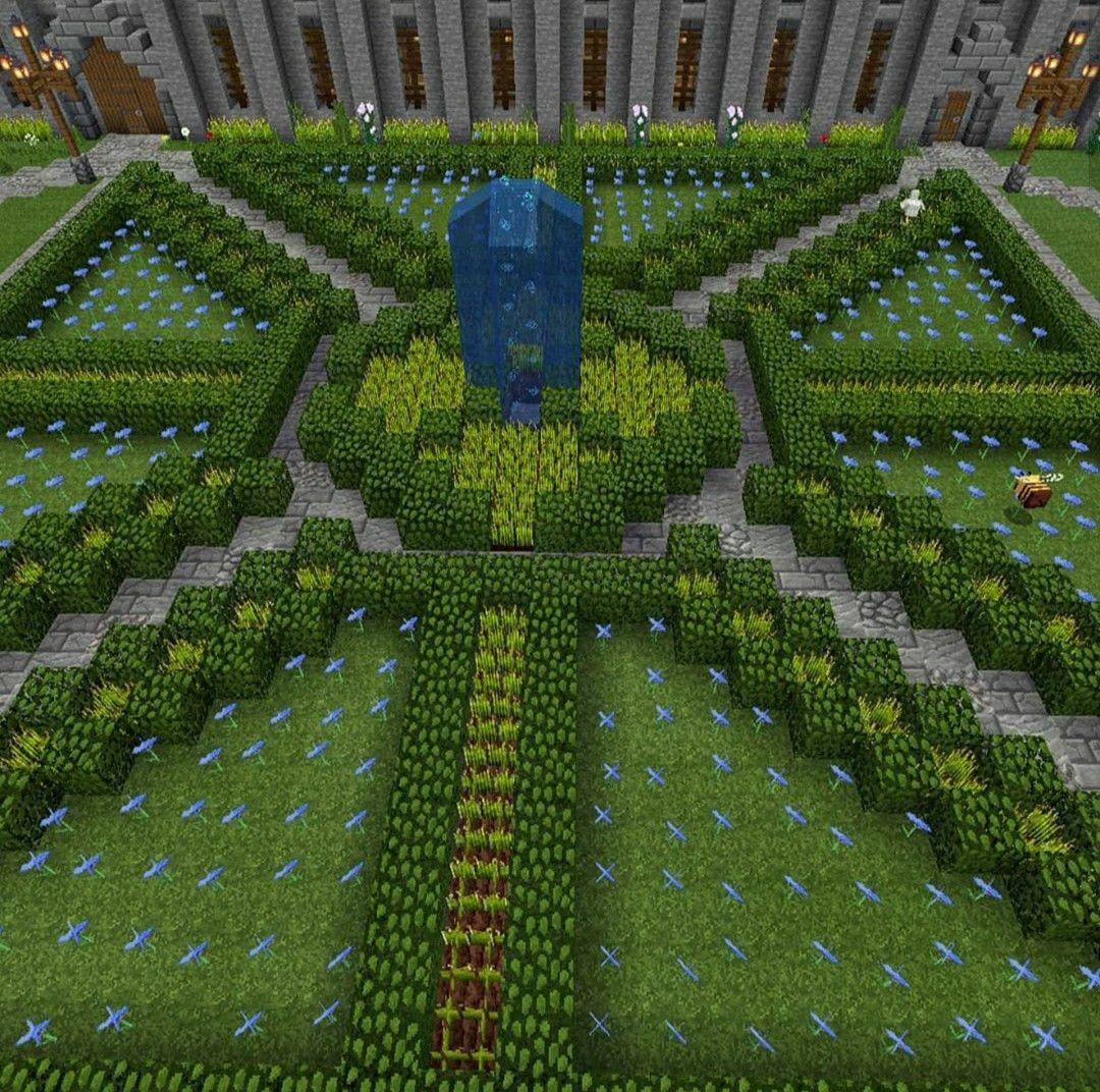 Minecraft Garden Entrance, #Entrance #Garden #Minecraft # ...