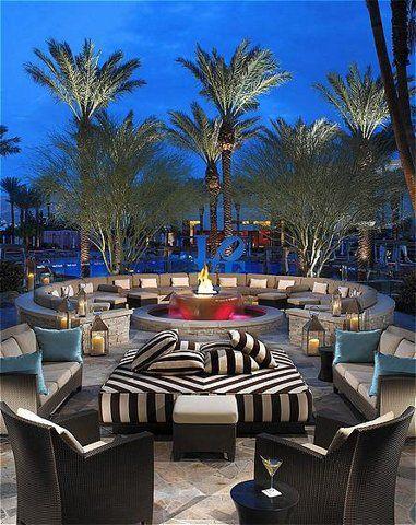 Red Rock Casino Resort And Spa Hotels Vegas Leben Unter Freiem Himmel Raum Im Freien