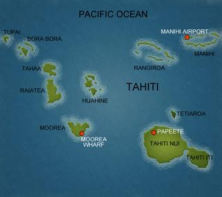 Tahiti French Polynesia Including Papeete Bora Bora