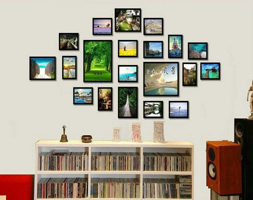 Wall Photo Frames Collage collage picture frames. fabulous vintage collage picture frames