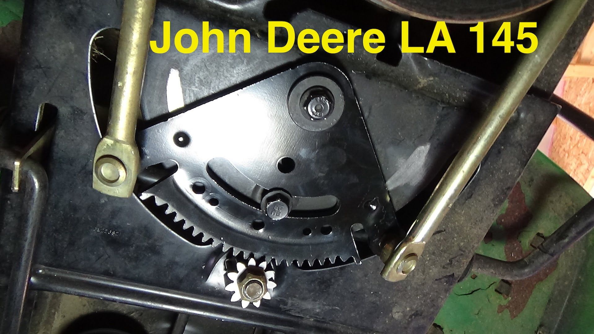 For Cub Cadet 1250 Wiring Diagram Steering Sector Amp Pinion Gear Replacement John Deere