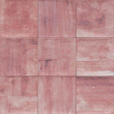 Mainzu #Verona Rosa 20x20 cm #Feinsteinzeug #Dekore #20x20 im - küche fliesen boden