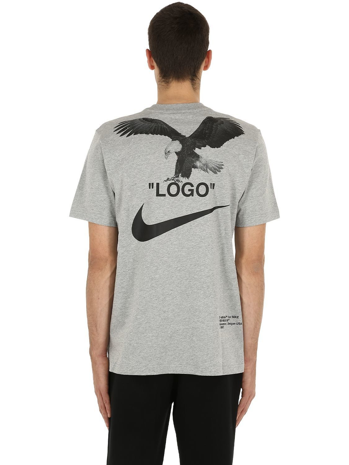 NIKE NRG OFF-WHITE A6 COTTON JERSEY T-SHIRT.  nike  cloth  5122ac59a526