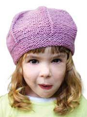 Queenie Hat Knit Pattern - Beginner Hat Knitting Pattern