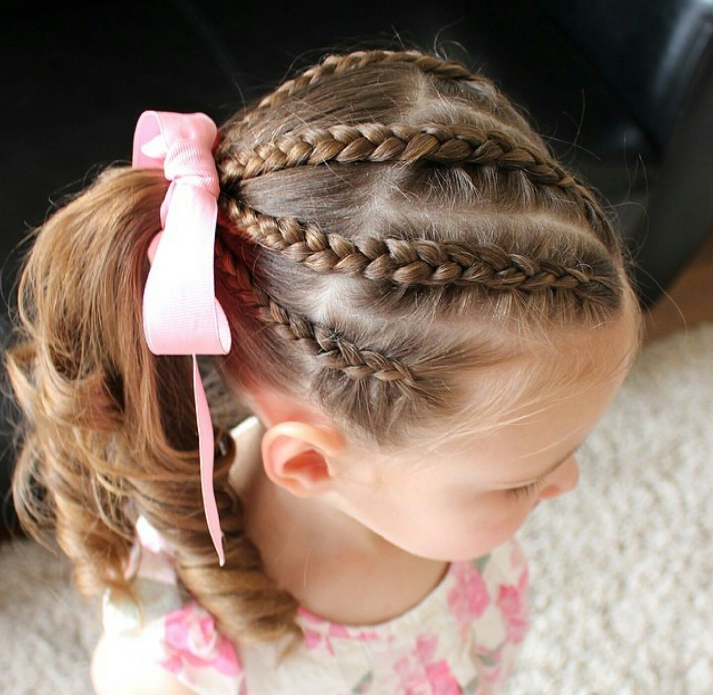 Pin by nikki bowden on little girl hairstyles pinterest girl