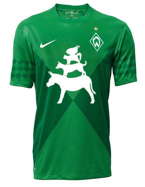 7cf495c3dd Vorschlag für das neue Werder-Trikot