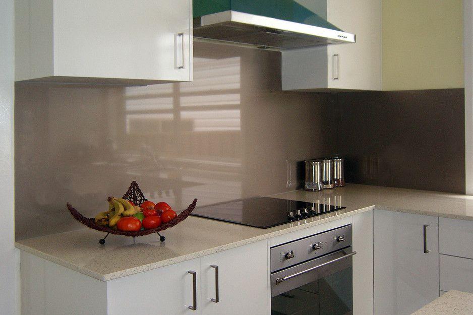 "Bathroom Renovations Gosford metaline splashback "" nimbus metallic "" - ozziesplash, kitchen"
