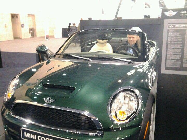A green mini cooper s convertible mini cooper s mini