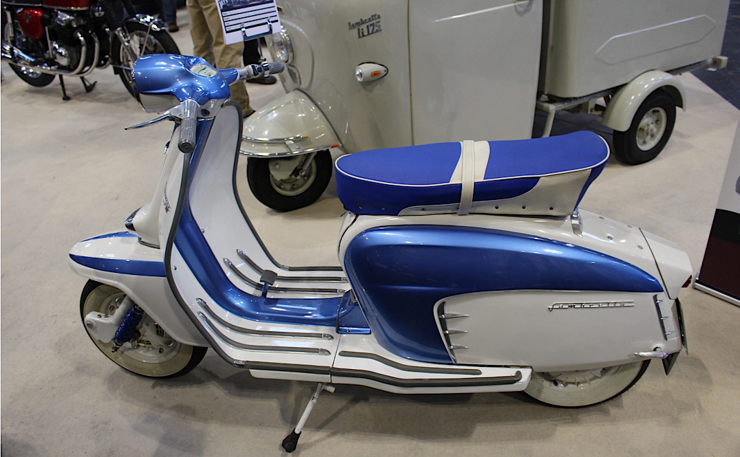 1963 Lambretta TV125 125cc Single Cylinder 2-Stroke Engine