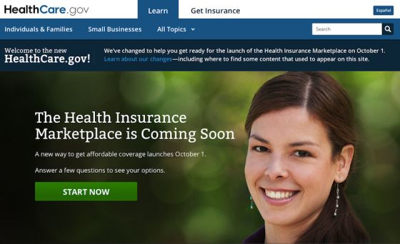 Health Insurance Marketplace Coming Soon Website Up Already
