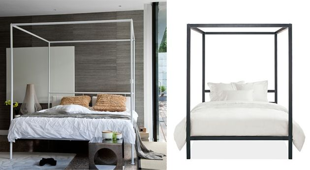 minimalist four poster bed modern canopy bed modern four poster bed room and