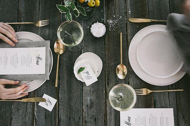 Une table de fªte végétale