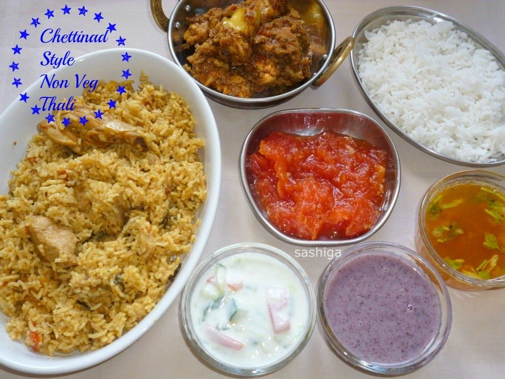 Chettinad non veg thali thalis pinterest veg thali and recipes chettinad non veg thali forumfinder Gallery